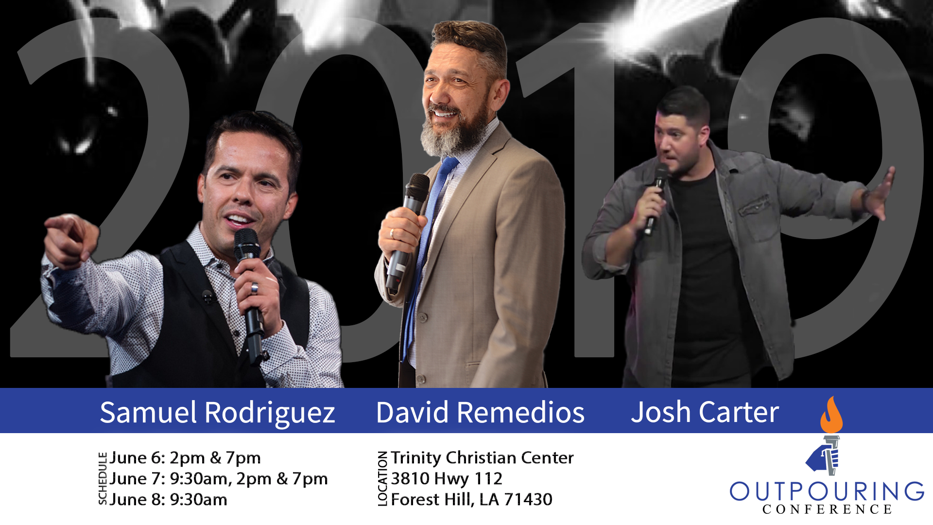 Speakers Samuel Rodriguez, David Remedios, Josh Carter